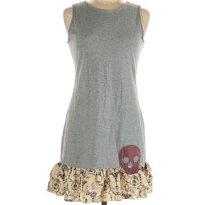 Like NEW Johnny Was Cotton Dress w Skull, Runs S